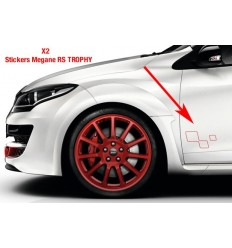 Stickers logo Mégane RS trophy gauche