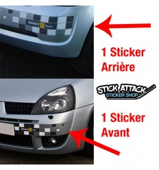 Stickers CLIO 2 F1 TEAM
