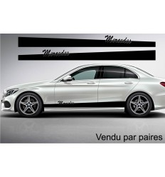 Bandes Latérales mercedes simple