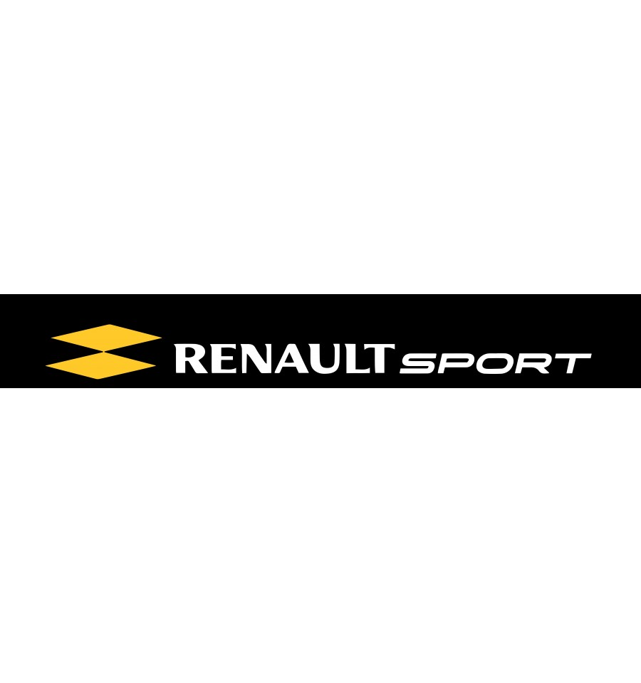 stickers bande pare soleil renault sport. Black Bedroom Furniture Sets. Home Design Ideas