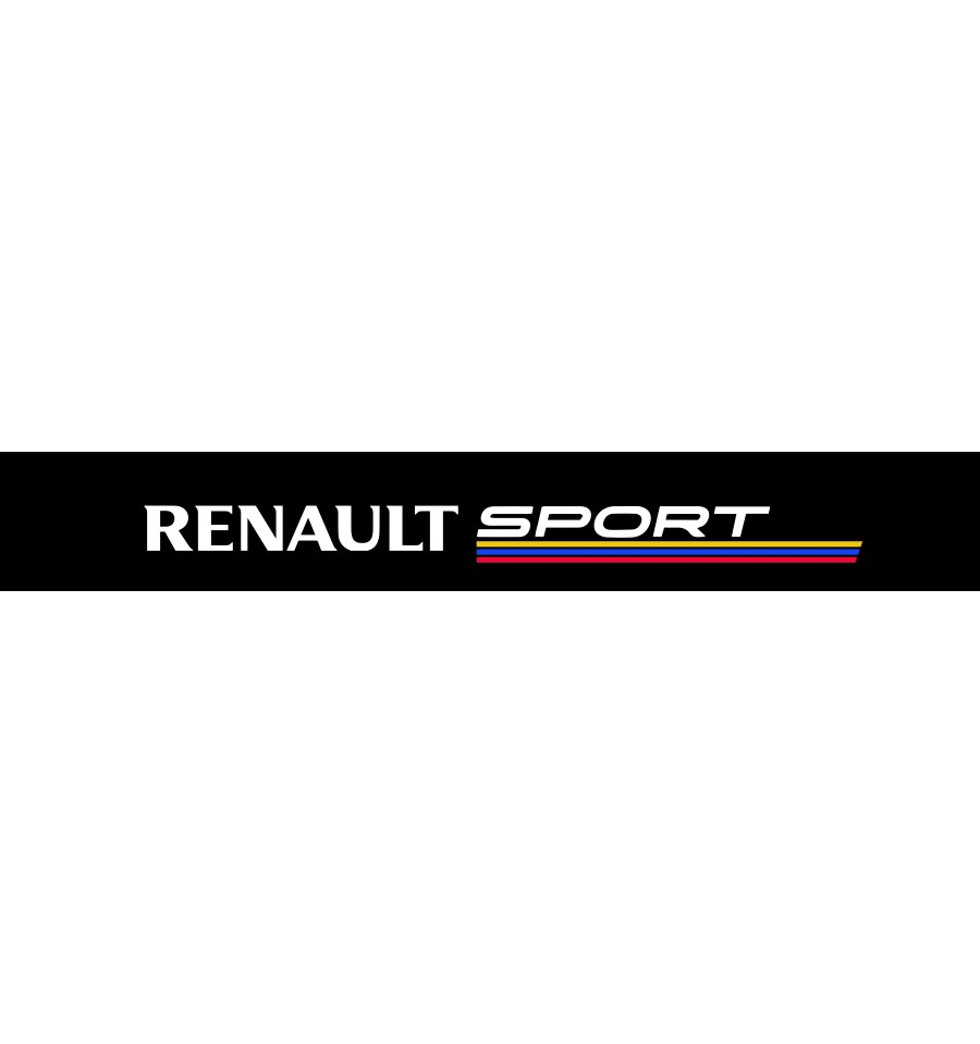 stickers bande pare soleil renault sport 6. Black Bedroom Furniture Sets. Home Design Ideas
