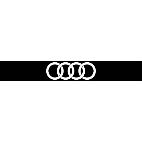 stickers bande pare soleil logo audi. Black Bedroom Furniture Sets. Home Design Ideas