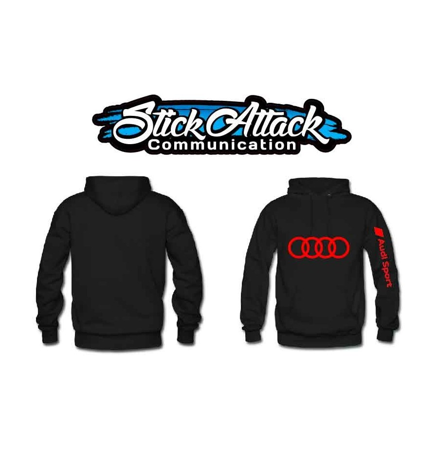 sweat shirt audi sport soyez au chaud l int rieur et l ext rieur de votre voiture. Black Bedroom Furniture Sets. Home Design Ideas