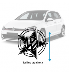 Stickers VW Star