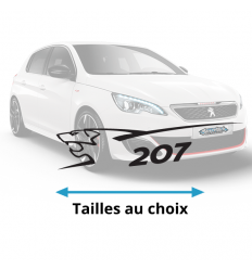 Stickers Peugeot 207