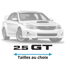 Stickers Subaru 2.5 GT