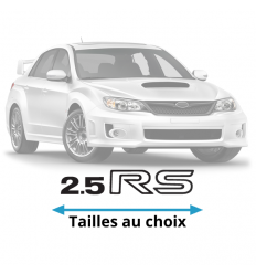 Stickers Subaru 2.5 RS