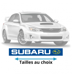 Stickers Subaru couleurs