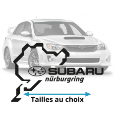 Stickers Subaru Nurburgring