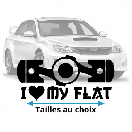 Stickers Flat Lover