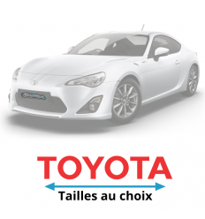 Stickers Toyota écriture