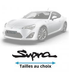Stickers Toyota supra