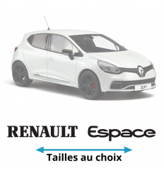 Stickers Renault Espace