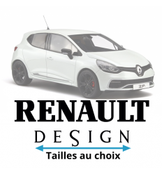 Stickers Renault Design