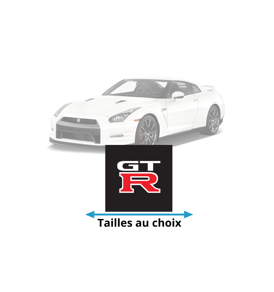 stickers nissan gtr pour d corer votre voiture prix mini. Black Bedroom Furniture Sets. Home Design Ideas
