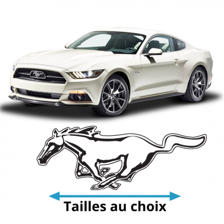 stickers mustang cheval pour votre mustang partir de 2 50. Black Bedroom Furniture Sets. Home Design Ideas
