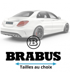 Stickers mercedes Brabus