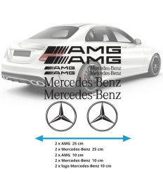 Planche Stickers mercedes AMG
