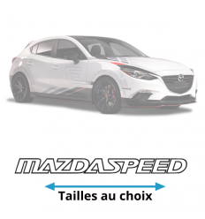 Stickers Mazda Speed