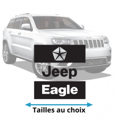 Stickers Jeep Eagle