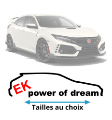 Stickers honda EK Power