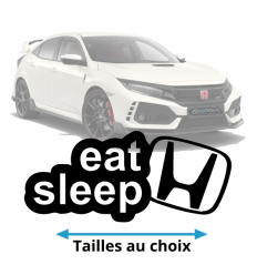Stickers Eat Sleep Honda