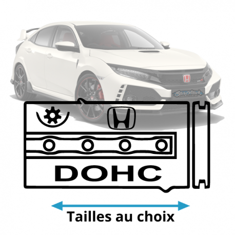 Stickers honda DOHC