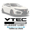 Stickers honda Vtec Loading