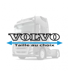 Stickers Volvo lettrage