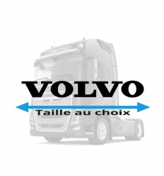 Stickers Volvo lettrage plein