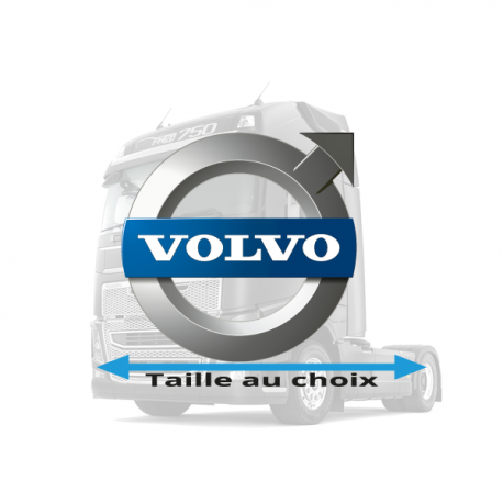 Stickers Volvo logo couleurs