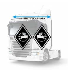 Stickers Losange IVECO