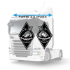 Stickers Losanges Scania viking