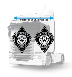 Stickers Losanges Scania vabis v8