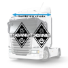 Stickers Losanges Scania v8 original