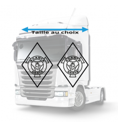Stickers Losanges Scania Vabis Vide