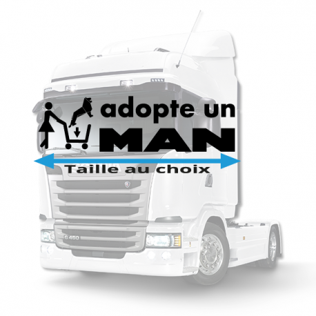 Stickers adopte un man
