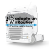 Stickers adopte un routier mercedes