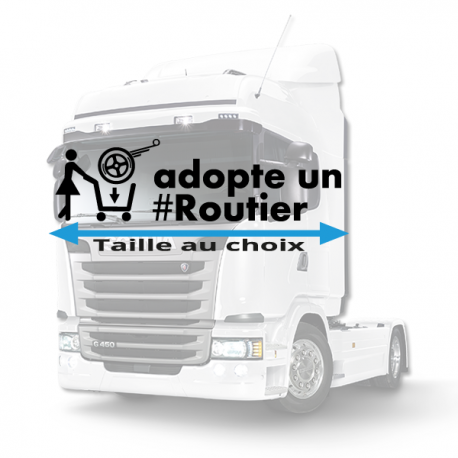Stickers adopte un routier daf