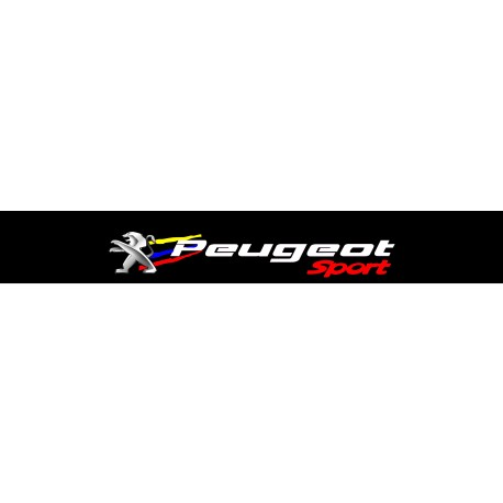 stickers bande pare soleil peugeot sport. Black Bedroom Furniture Sets. Home Design Ideas