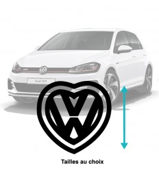 Stickers I love Volkswagen