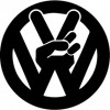 Stickers Peace VW