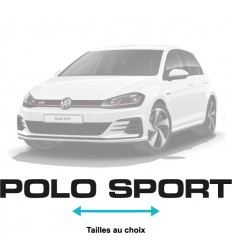 Stickers Polo Sport