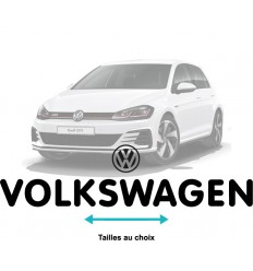 Stickers Volkswagen écriture