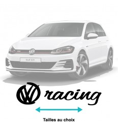 Stickers Volkswagen Racing