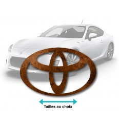 Stickers toyota rouille