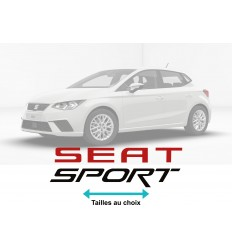 Stickers Seat sport couleurs