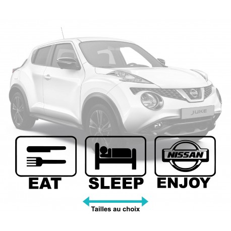 Nissan Life Eat-sleep-enjoy