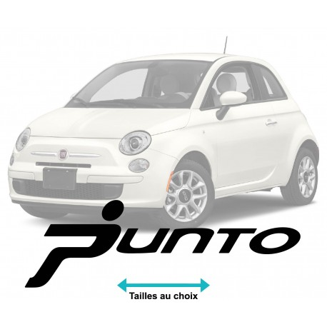 stickers fiat punto logo. Black Bedroom Furniture Sets. Home Design Ideas