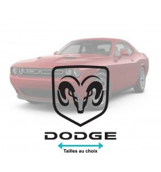 Stickers Dodge logo